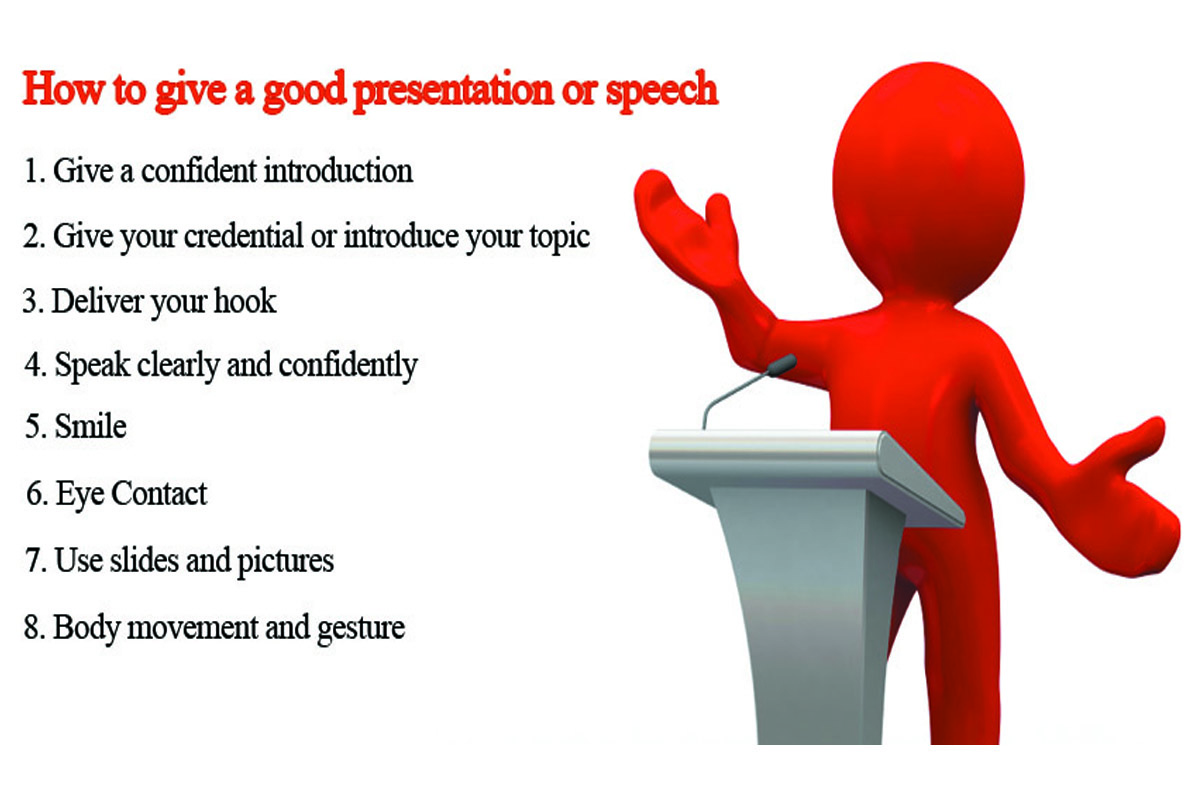 starting words of presentation