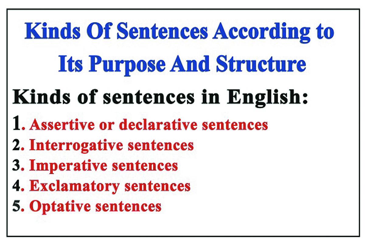 Types of sentences - Term paper Example September 2020 - Help -  pwhomeworklcep.onlinetelecom.info