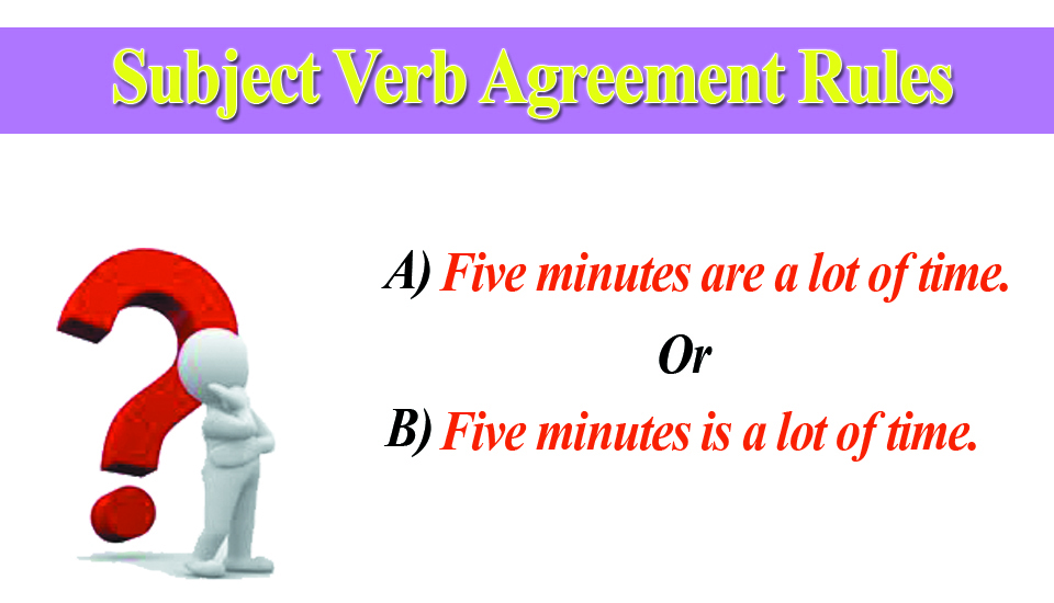 20 Rules Of Subject Verb Agreement Essay Research Paper Academic