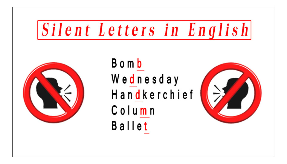 Silent Letters Complete Rules in English-Silent letters in English A