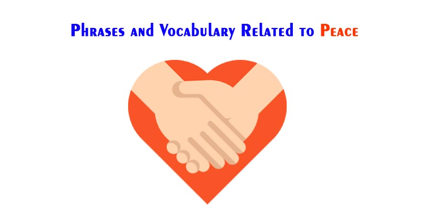 Phrases and Vocabulary Related to Peace