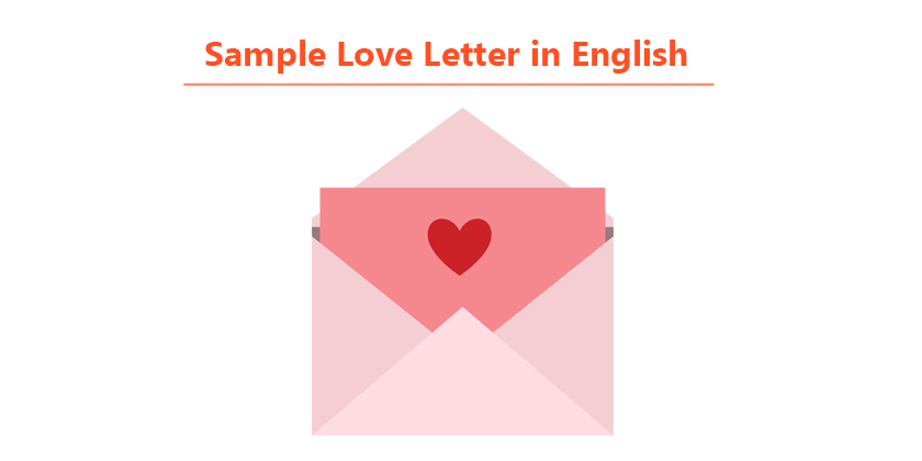 Love letter in english