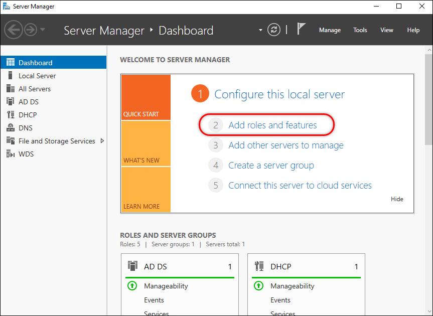 Migrating Roles Server 2012R2 Windows Server 2016