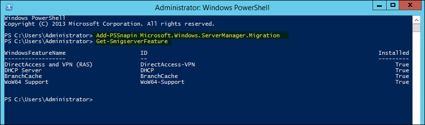 Migrating Roles Server From 2012R2 to Windows Server 2016