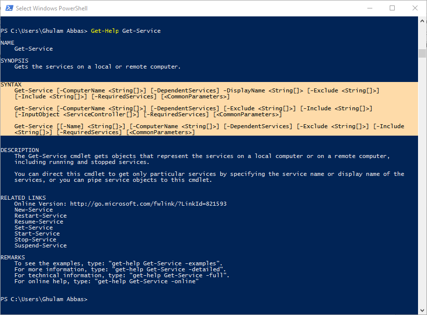 Discovering Microsoft PowerShell Commands