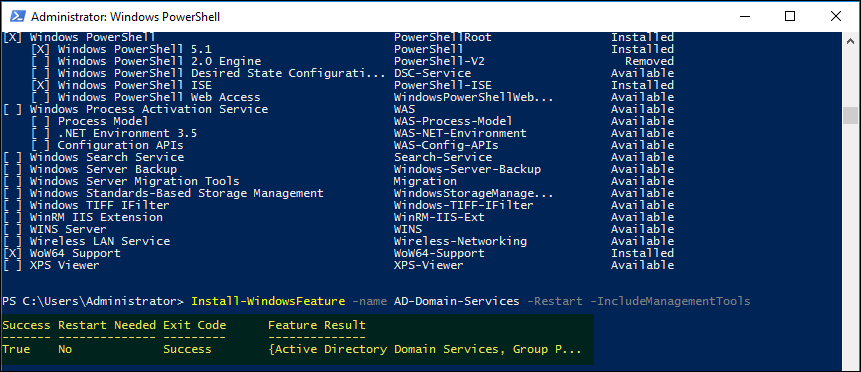 Manage and Configure Active Directory via PowerShellManage and Configure Active Directory via PowerShell
