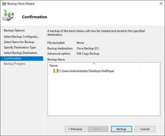 Windows Server 2016 Backup Solutions
