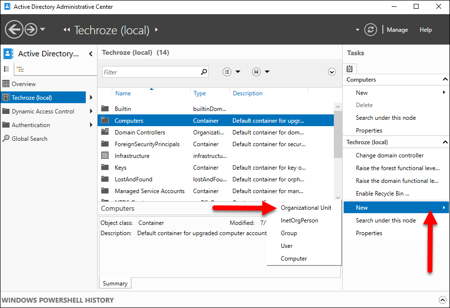 Create Single User on Windows Server 2016