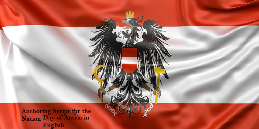 Anchoring Script for the National Day of Austria in English