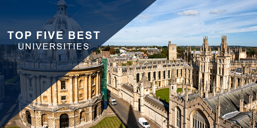Top 5 Best Universities in the World 2018
