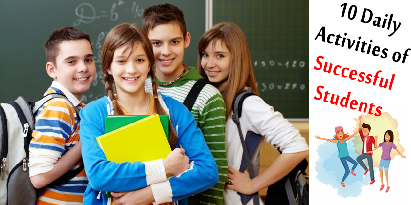 10 Daily Activities of Successful Students