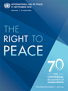 The International Day of Peace 2018