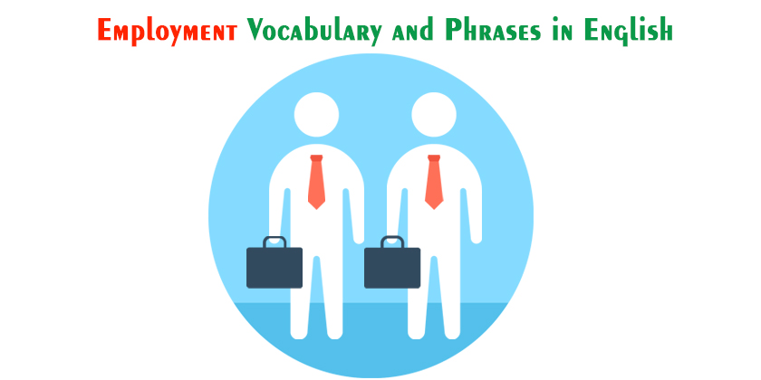 English Words Relating to Employment