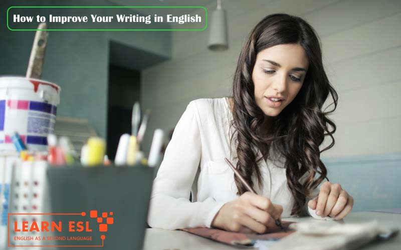How to Improve Your Writing in English